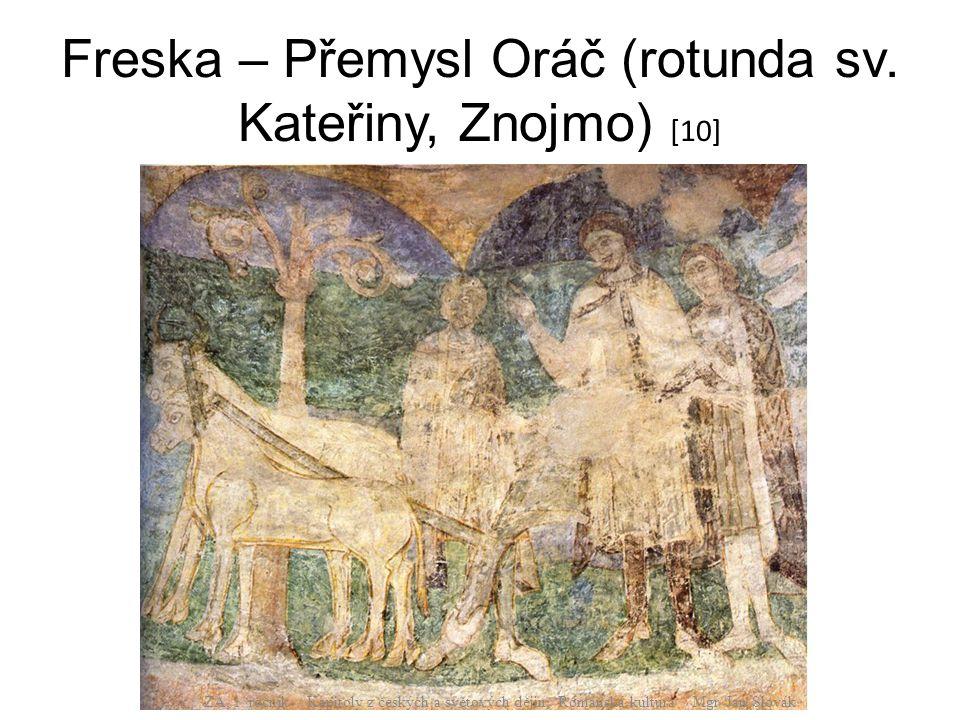 Freska – Přemysl Oráč (rotunda sv. Kateřiny, Znojmo) [10]